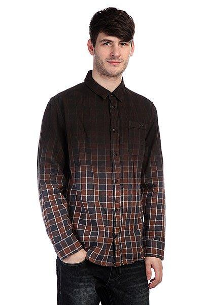 Рубашка утепленная Altamont Conifer L/S Flannel Navy<br><br>Цвет: коричневый,синий<br>Тип: Рубашка утепленная<br>Возраст: Взрослый<br>Пол: Мужской