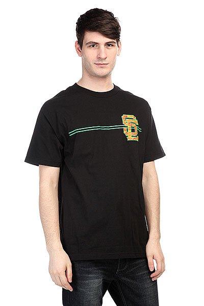 Футболка Santa Cruz Sc Block Black/Rasta<br><br>Цвет: черный<br>Тип: Футболка<br>Возраст: Взрослый<br>Пол: Мужской