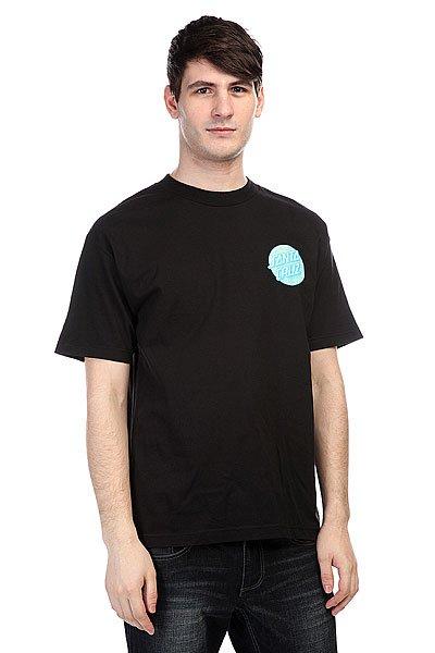 Футболка Santa Cruz Spiral Dot Black<br><br>Цвет: черный<br>Тип: Футболка<br>Возраст: Взрослый<br>Пол: Мужской