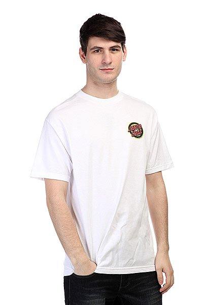 Футболка Santa Cruz Rob 3 White футболка santa cruz knot white