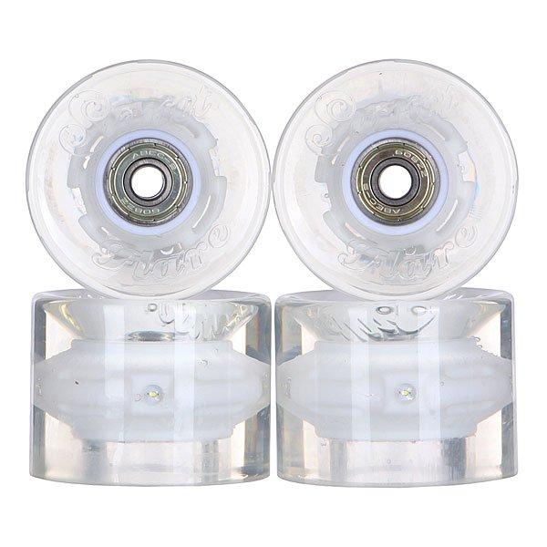 Колеса для скейтборда для лонгборда с подшипниками Sunset Cruiser Wheel With Abec9 White 78A 59 mm колеса для скейтборда для лонгборда eastcoast shelby white 78a 65 mm
