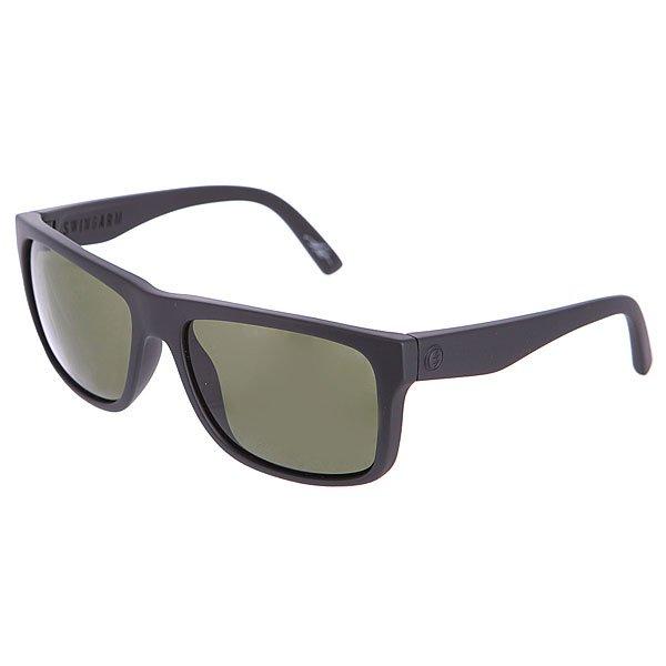 Очки Electric Swingarm Matte Black/M GreyЛегкие и мощные очки, которые предлагают бескомпромиссную функциональность.Технические характеристики: Оправа из материала Grilamid.Линзы из поликарбоната покрыты Меланином для надежной фильтрации и защиты от вредных УФ лучей.100% защита от ультрафиолета.Линзы обеспечивают четкое, контрастное и глубокое изображение.Поляризованное покрытие линзы, которое уменьшает блики на 99%.<br><br>Цвет: черный<br>Тип: Очки<br>Возраст: Взрослый<br>Пол: Мужской