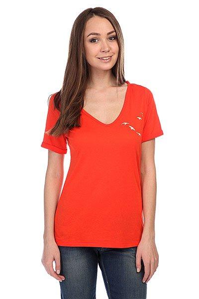 Футболка женская Roxy Newvb J Tees Fiery Orange