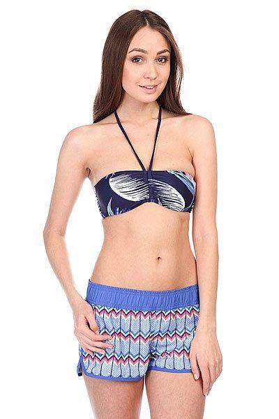 Бюстгальтер женский Roxy Bandeau J Tropical Getaway Ast<br><br>Цвет: синий<br>Тип: Бюстгальтер<br>Возраст: Взрослый<br>Пол: Женский