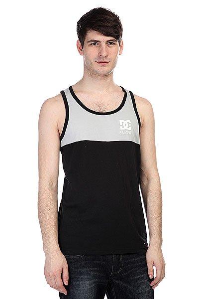 Майка DC Rd Format Highrise<br><br>Цвет: серый,черный<br>Тип: Майка<br>Возраст: Взрослый<br>Пол: Мужской