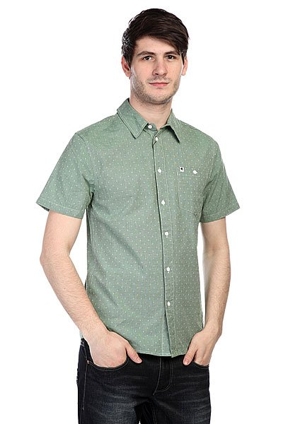 Рубашка Etnies Castaic S/S Woven Avocado рубашка colin s colin s mp002xm0wcm1