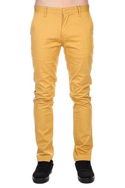 Штаны узкие Etnies Classic Slim Chino Pant Gold<br><br>Цвет: желтый<br>Тип: Штаны узкие<br>Возраст: Взрослый<br>Пол: Мужской