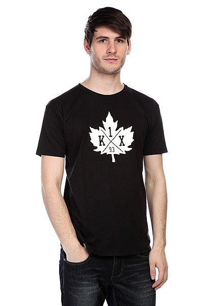 Футболка K1X Leaf Crest Tee Black/White<br><br>Цвет: черный<br>Тип: Футболка<br>Возраст: Взрослый<br>Пол: Мужской