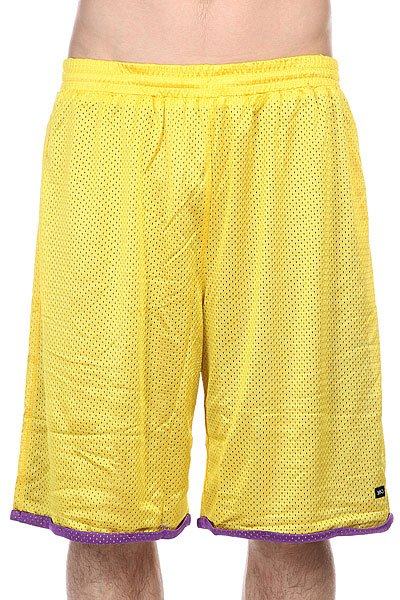 Шорты K1X Roll-up Practice Shorts Yellow/Purple