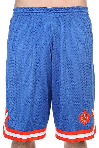Шорты K1X Leaf Double-x Shorts Blue/Flame<br><br>Цвет: голубой,оранжевый<br>Тип: Шорты<br>Возраст: Взрослый<br>Пол: Мужской