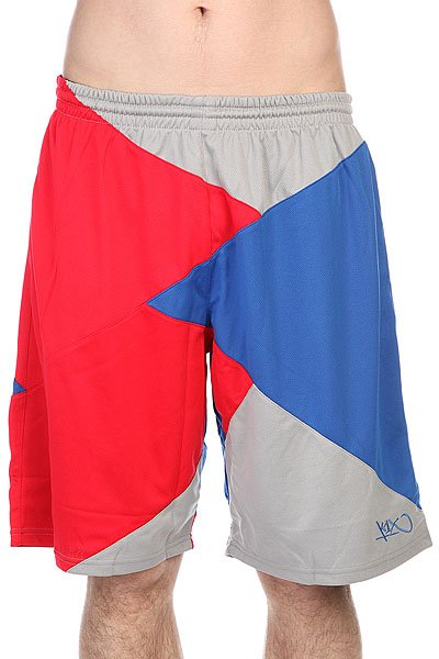 Шорты K1X Zaggamuffin Shorts Red/Royal Blue