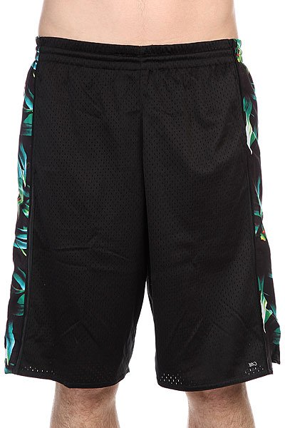 Шорты K1X Oahu Panel Shorts Black/Tropical<br><br>Цвет: черный,зеленый<br>Тип: Шорты<br>Возраст: Взрослый<br>Пол: Мужской