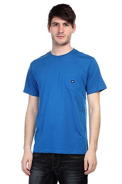 Футболка DC Basic Pocket T Snorkel Blue<br><br>Цвет: синий<br>Тип: Футболка<br>Возраст: Взрослый<br>Пол: Мужской