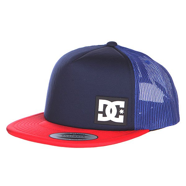 Бейсболка DC Blanderson Hats Indigo/Red