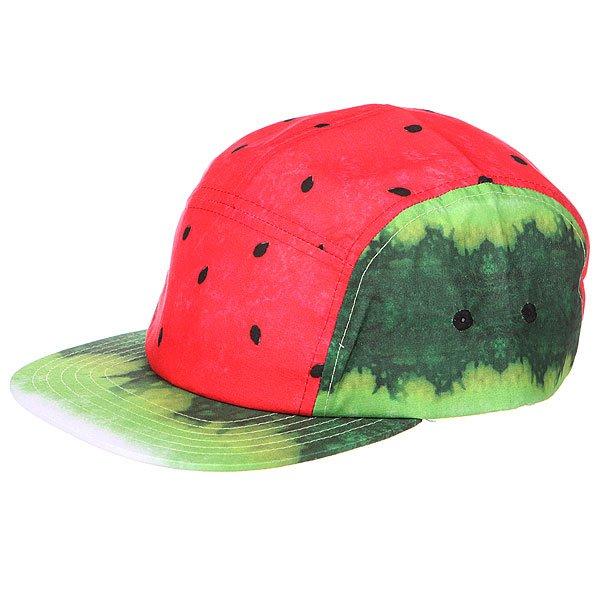 Бейсболка пятипанелька Neff Hard Fruit Camper Wat<br><br>Цвет: красный,зеленый<br>Тип: Бейсболка пятипанелька<br>Возраст: Взрослый<br>Пол: Мужской