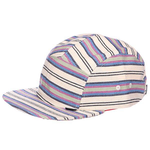 Бейсболка пятипанелька Neff Chalupaid Camper White<br><br>Цвет: бежевый,синий<br>Тип: Бейсболка пятипанелька<br>Возраст: Взрослый<br>Пол: Мужской