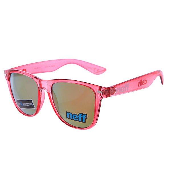Очки Neff Daily Ice RedКлассические очки с красочными прозрачными линзами - отличный вариант для повседневного использования.Технические характеристики: Материал оправы - пластик.Акриловые линзы.100% защита от ультрафиолетовых лучей.<br><br>Цвет: красный<br>Тип: Очки<br>Возраст: Взрослый<br>Пол: Мужской