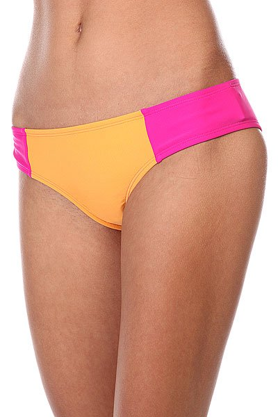 Плавки женские Roxy Cheeky Scooter J Orange/Pink<br><br>Цвет: розовый,оранжевый<br>Тип: Плавки<br>Возраст: Взрослый<br>Пол: Женский