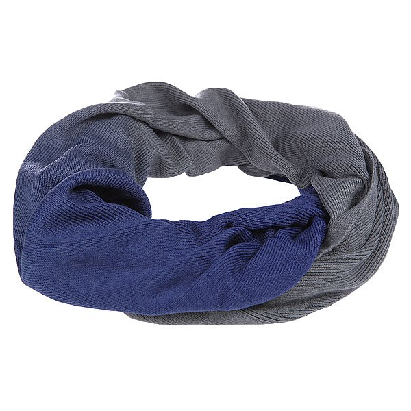 Шарф женский Burton Wms Crush Scarf Monument/Royal Blue