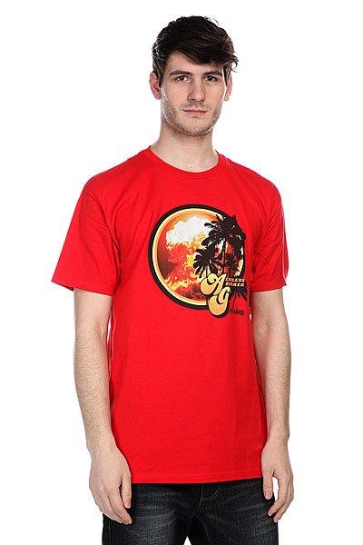 Футболка Analog Ag Bummer Ss Redstone<br><br>Цвет: красный<br>Тип: Футболка<br>Возраст: Взрослый<br>Пол: Мужской