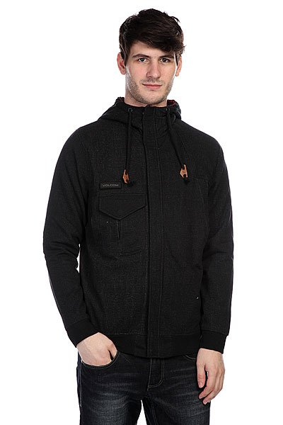 Куртка Volcom Bone Yard Lined Fleece Black