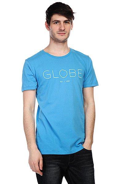Футболка Globe Phase Tee Maui Blue<br><br>Цвет: голубой<br>Тип: Футболка<br>Возраст: Взрослый<br>Пол: Мужской