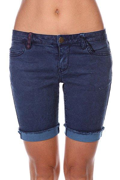 Шорты джинсовые женские Billabong Highest Point Blue Moon<br><br>Цвет: синий<br>Тип: Шорты джинсовые<br>Возраст: Взрослый<br>Пол: Женский