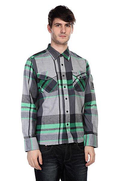 Рубашка в клетку Innes Dwight Kelly Green<br><br>Цвет: серый<br>Тип: Рубашка в клетку<br>Возраст: Взрослый<br>Пол: Мужской