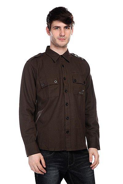 Рубашка Innes Tyson Military<br><br>Цвет: коричневый<br>Тип: Рубашка<br>Возраст: Взрослый<br>Пол: Мужской