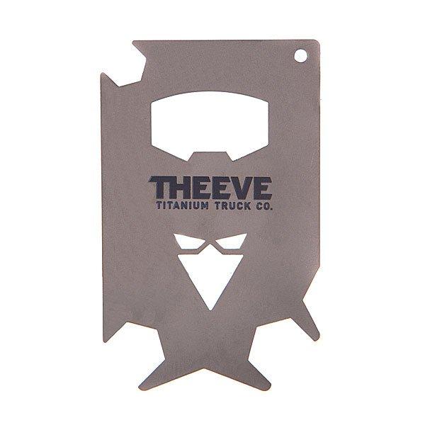 Ключ для скейтборда Theeve Theeve Key Card Grey<br><br>Цвет: серый,черный<br>Тип: Ключ для скейтборда