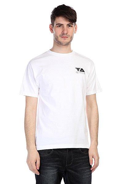 Футболка Fallen Poler X Fallen Shirt White/Black<br><br>Цвет: белый<br>Тип: Футболка<br>Возраст: Взрослый<br>Пол: Мужской