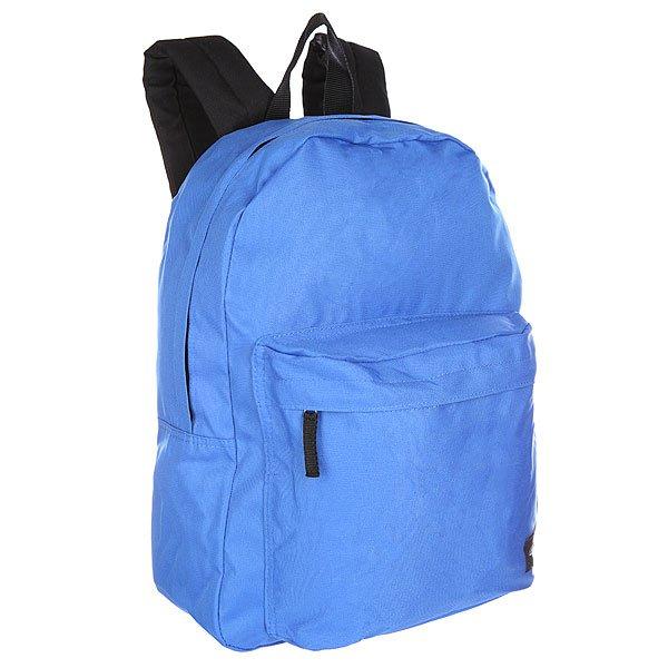 Рюкзак городской Dickies Indianapolis Royal BlueУдобный и простой городской рюкзак на каждый день.Характеристики:Вместительное отделение на молнии.Смягченная спинка. Регулируемые мягкие лямки. Лицевой карман на молнии. Логотип производителя.<br><br>Цвет: синий<br>Тип: Рюкзак городской<br>Возраст: Взрослый