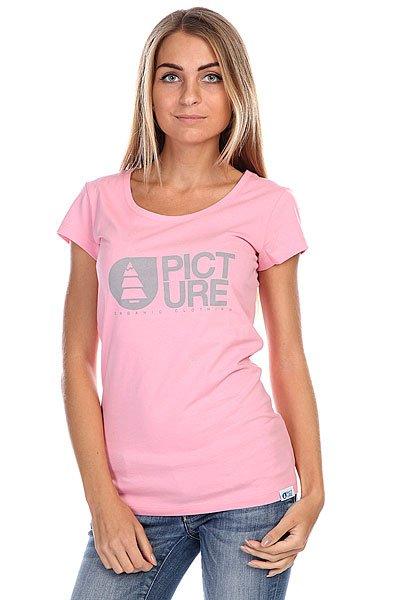 Фото Футболка женская Picture Organic Basement Pink. Купить с доставкой