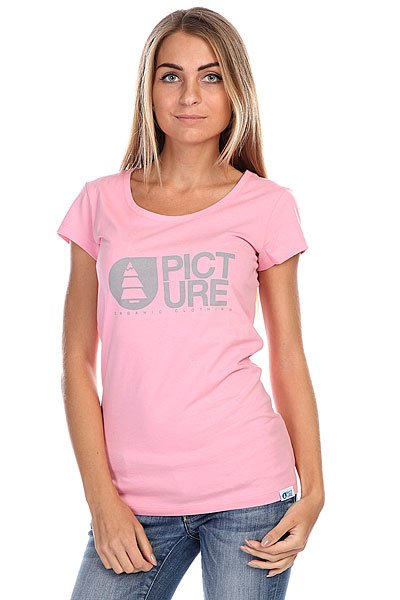 Футболка женская Picture Organic Basement Pink<br><br>Цвет: розовый<br>Тип: Футболка<br>Возраст: Взрослый<br>Пол: Женский