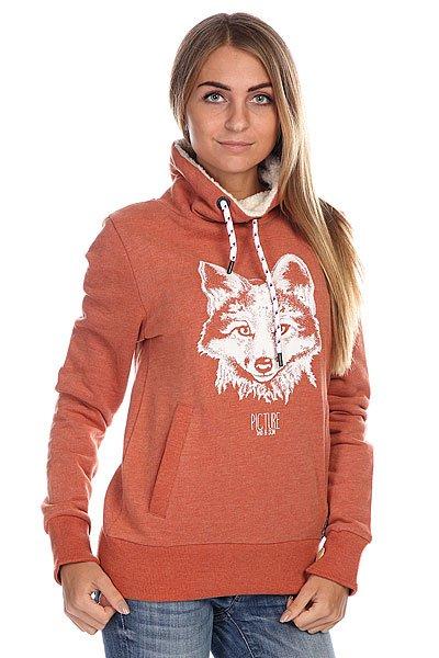 Толстовка женская Picture Organic Foxy Red11111111<br><br>Цвет: коричневый<br>Тип: Толстовка классическая<br>Возраст: Взрослый<br>Пол: Женский