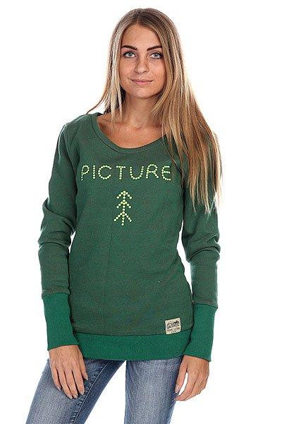 где купить Толстовка женская Picture Organic Rover Green по лучшей цене