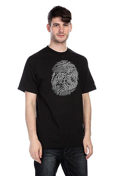 Футболка Flip Fingerprint Black<br><br>Цвет: черный<br>Тип: Футболка<br>Возраст: Взрослый<br>Пол: Мужской