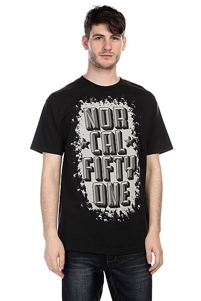 Футболка Nor Cal Iron Fist Black<br><br>Цвет: черный<br>Тип: Футболка<br>Возраст: Взрослый<br>Пол: Мужской