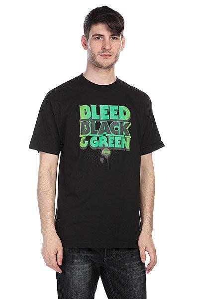 Футболка Creation Skateboards Bleed Black<br><br>Цвет: черный<br>Тип: Футболка<br>Возраст: Взрослый<br>Пол: Мужской