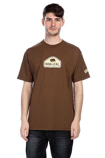 Футболка Nor Cal Ranger Coffee<br><br>Цвет: коричневый<br>Тип: Футболка<br>Возраст: Взрослый<br>Пол: Мужской