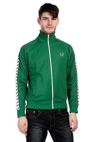 Ветровка Fred Perry Laurel Track Jacket C30 Green