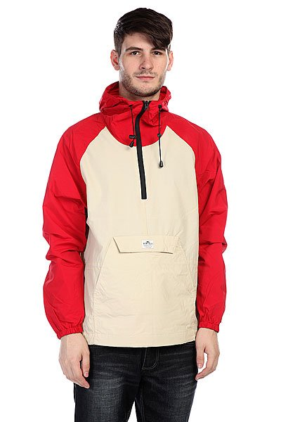 Анорак Penfield Pac Jac Packable Jkt Red/Tan