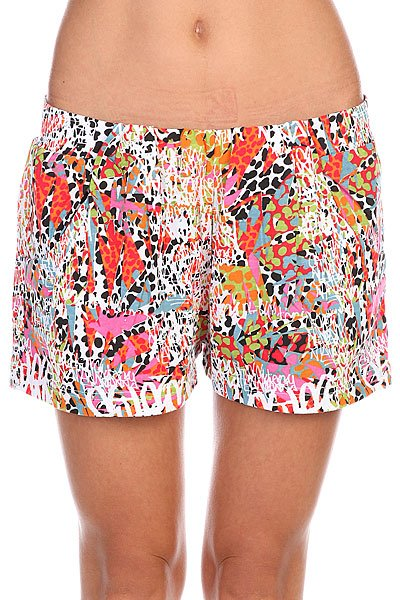 Шорты женские Stussy Jamrock Shorts Pink<br><br>Цвет: мультиколор<br>Тип: Шорты<br>Возраст: Взрослый<br>Пол: Женский