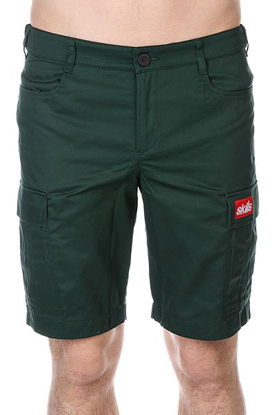 ����� Skills Cargo Shorts 2 Dark Green