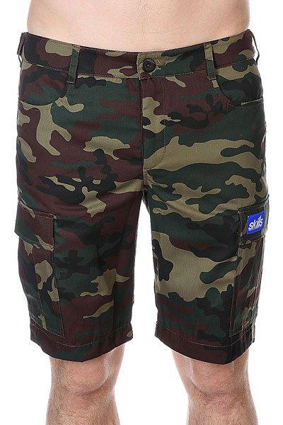 Шорты Skills Cargo Shorts 2 Street Camo