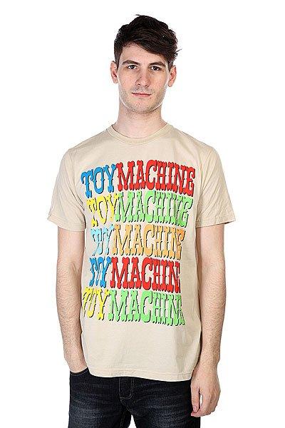 Футболка Toy Machine Matokie V.3 Tan<br><br>Цвет: бежевый<br>Тип: Футболка<br>Возраст: Взрослый<br>Пол: Мужской