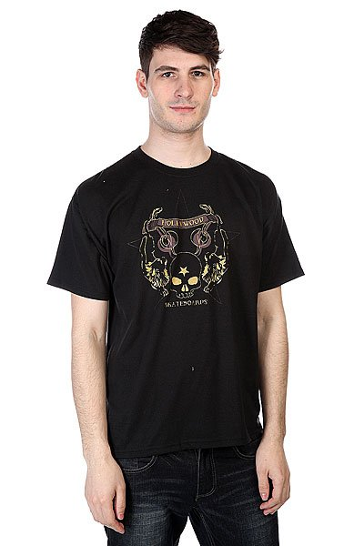 футболка-hollywood-tum-yeto-hw-scull-star-black