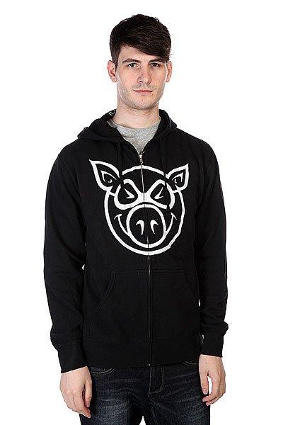 Толстовка Pig Basic Black/White<br><br>Цвет: черный<br>Тип: Толстовка классическая<br>Возраст: Взрослый<br>Пол: Мужской