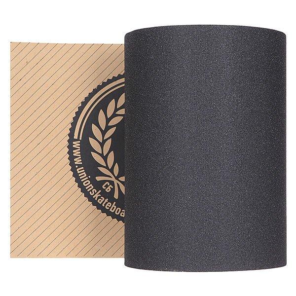 Шкурка для скейтборда для лонгборда Union Longboard Grip BlackШкурка в рулоне для лонгборда черного цвета.Характеристики:Декоративный принт на поверхности. Самоклеящаяся основа.<br><br>Цвет: черный<br>Тип: Шкурка для лонгборда