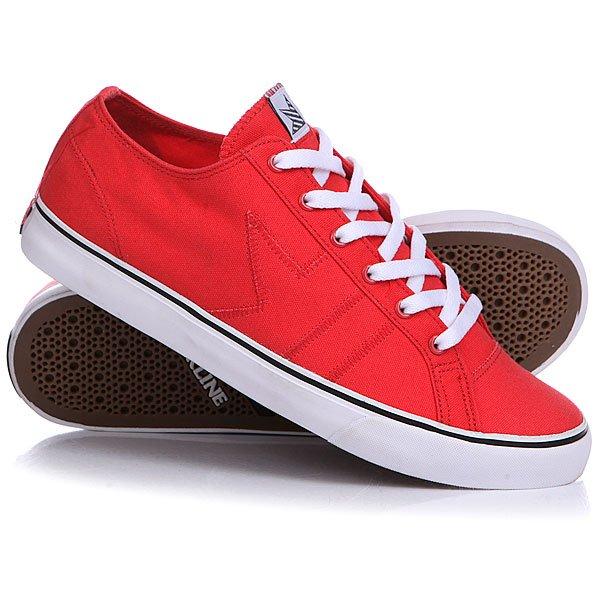 Кеды кроссовки низкие Dekline Forty 5 Red<br><br>Цвет: красный<br>Тип: Кеды низкие<br>Возраст: Взрослый<br>Пол: Мужской